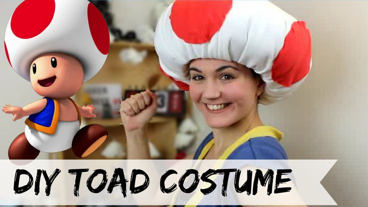 Hi guys, in today's video we'll be making a Toad's costume . Mario Kart is one of my favorite video game ever and Toad is one of my go to character to play w...