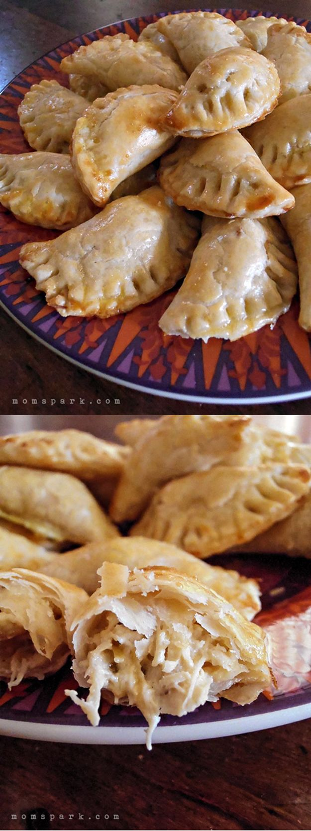Chicken and Green Chili Empanadas Recipe | Fun and Easy Cinco de Mayo Recipes by DIY Ready at http://diyready.com/23-cinco-de-mayo-recipes-to-get-the-party-started/                                                                                                                                                      More
