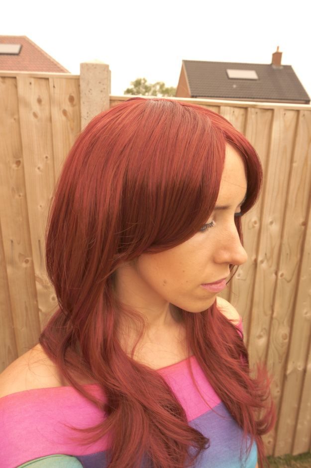 Wonderland Wigs Cassy Wig the stunning Michelle Rose. Check out her review here. #greathair #bighair #redhair #happycustomers #wiggingit #bblogger #customersreview http://thoushaltnotcovet.net/2013/07/30/wonderland-wigs-cassy-red-wig-review/ http://www.wonderlandwigs.com/en/wigs/213-cassy-long-red-razor-cut-flip-tip-layered-wig.html
