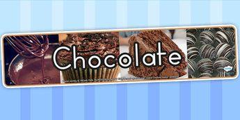 Chocolate IPC Photo Display Banner - food, header, eating, health
