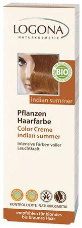 LOGONA Pflanzenhaarfarbe Color Creme Indian Summer