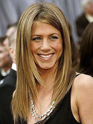 """Lauren Conrad 'long bob with asymmetrical bangs'"".... this is jennifer aniston?????"