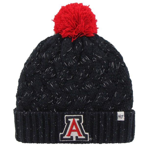 '47 Brand Arizona Wildcats Womens Navy Blue Fiona Cuff Knit Beanie, $19.95 http://shareasale.com/m-pr.cfm?merchantid=45646&userid=646297&productid=618976604&afftrack=