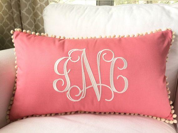 25  best ideas about monogram pillows on pinterest