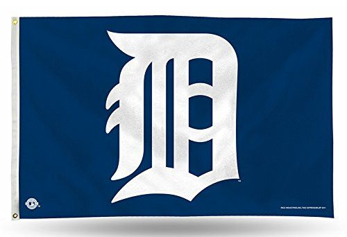 MLB Detroit Tigers 3-Foot by 5-Foot Banner Flag