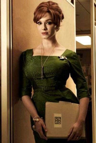 Okay, okay, so she may be Joan Harris these days, but Christina Hendricks' fabulous Mad Men character will always be Joan Holloway to me.