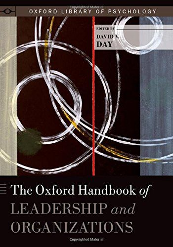 The Oxford handbook of leadership and organizations   164.69 DAY