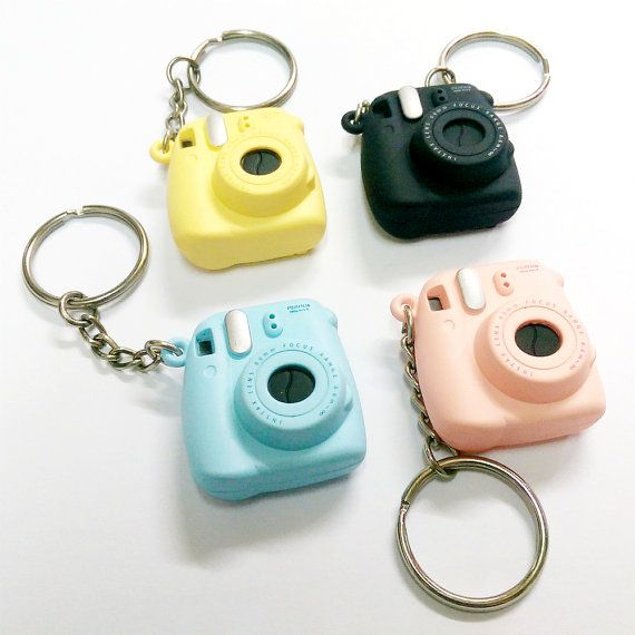 Fujifilm Instax Mini 8 Camera Keychain Small Key by MaterialDream
