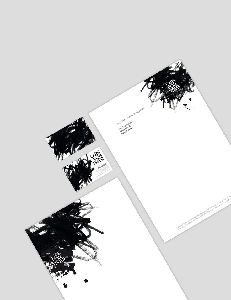 inspiration letterhead business card and branding - Letterhead Design Ideas