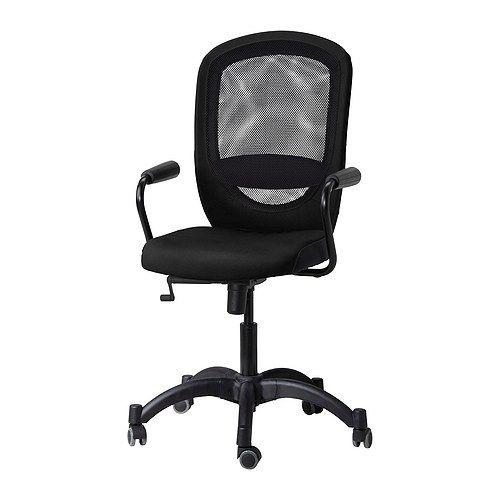 VILGOT/NOMINELL Chaise pivotante accoudoirs IKEA Hauteur facilement réglable pour une position de travail confortable. 89.9€