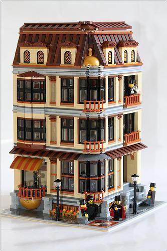 Lego MOC: Pumpkin Factory | ReBrick | From LEGO Fan To LEGO Fan