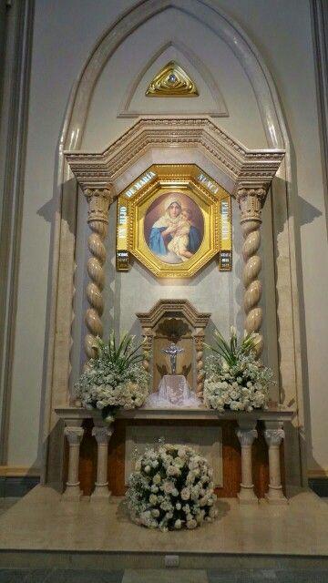 En la Catedral de Guayaquil