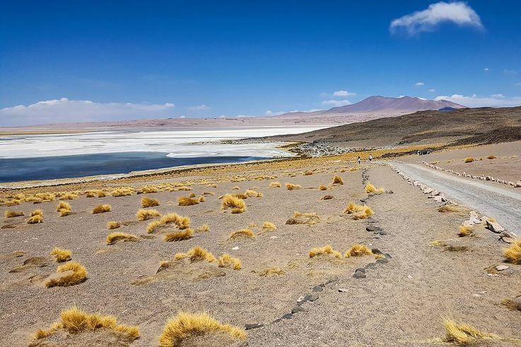 Salar de Tara uma das paisagens maravilhosas do Atacama Chile #NerdsNoAtacama #NerdsNoChile  Quem quiser saber mais tem post no blog!
