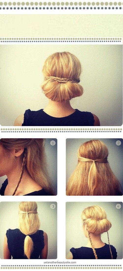 5 tutos coiffures simples à réaliser chaque jour – Astuces de filles