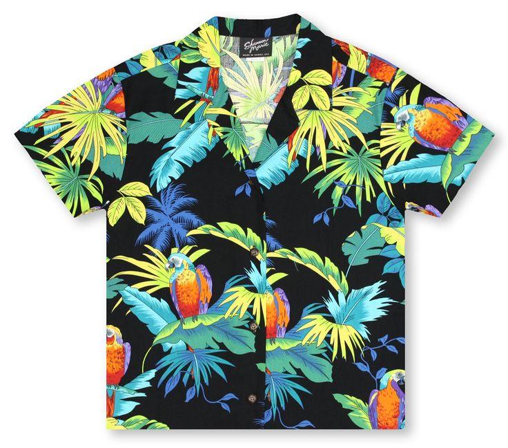 RJC Kalaheo Ladies Hawaiian Shirts From Aloha Shirt Shop | RJC Ladies Tropical Birds | RCL-05
