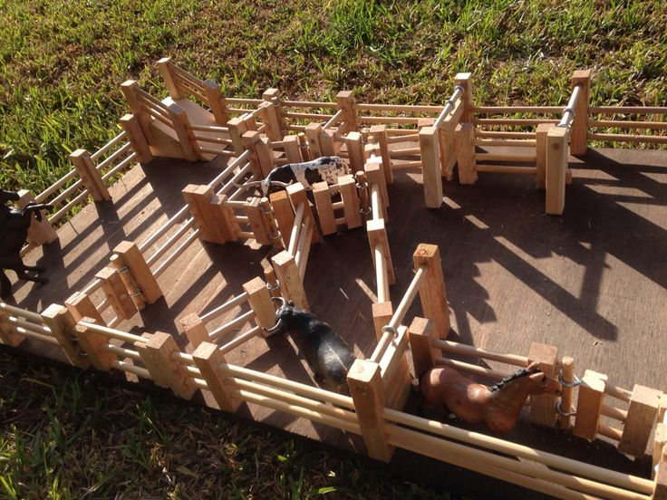 Cattle yards- kids wooden toys
