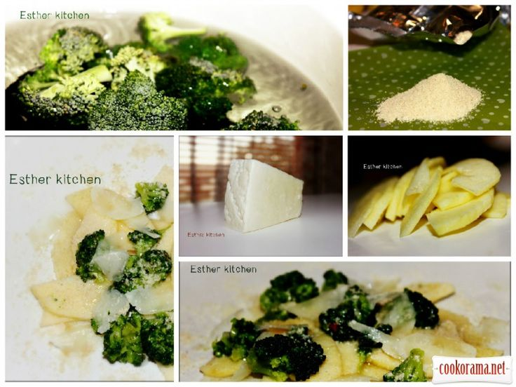 Салат з сиром Pecorino та капустою брокколі / Овочеві салати / Кукорама — смачні рецепти!