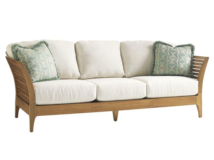 Tres Chic Sofa | Lexington Home Brands 88W X 35D X 35½H In. (3