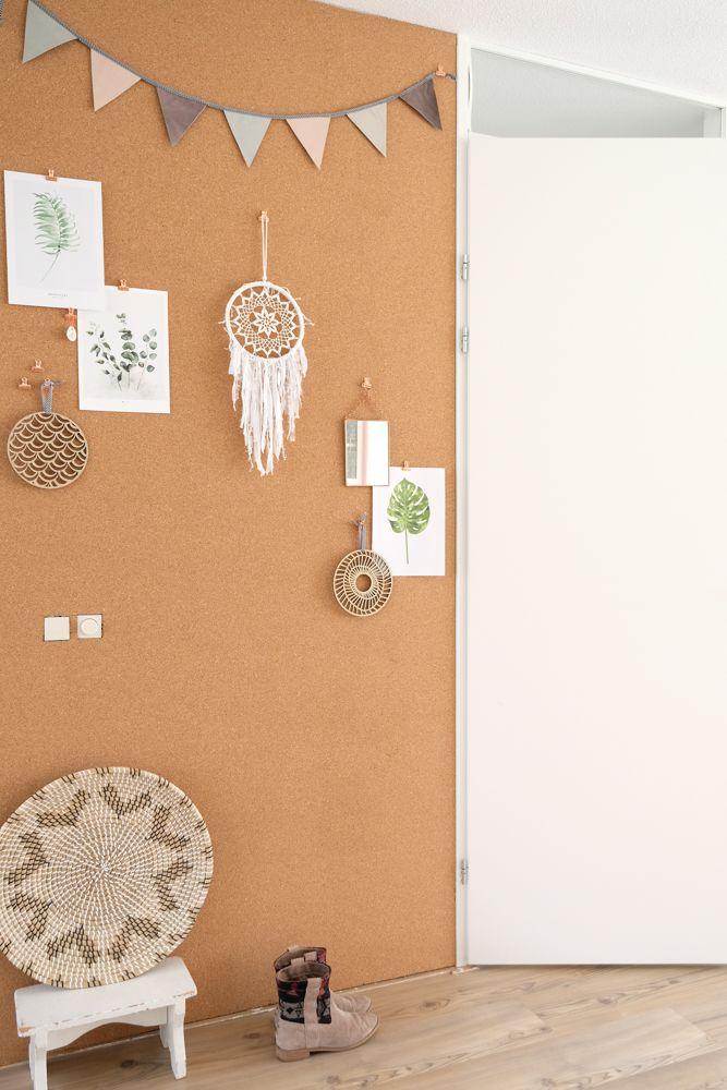 Verwonderlijk DIY Kurkwand maken voor je eigen grote prikbord in huis | Blog TG-67
