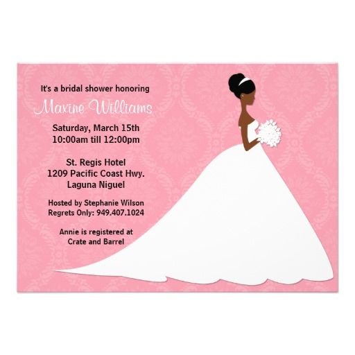 Bridal Shower African American Glamour Invitations Showers About Our Company People Blog With A Variety Of News Forum For