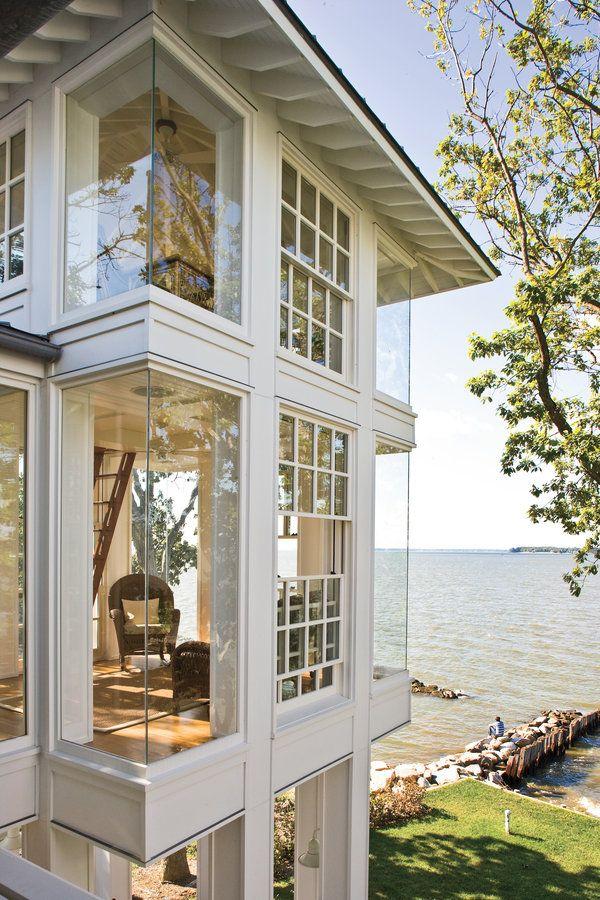 The 700 best Window Design Ideas images on Pinterest | Bay window ...