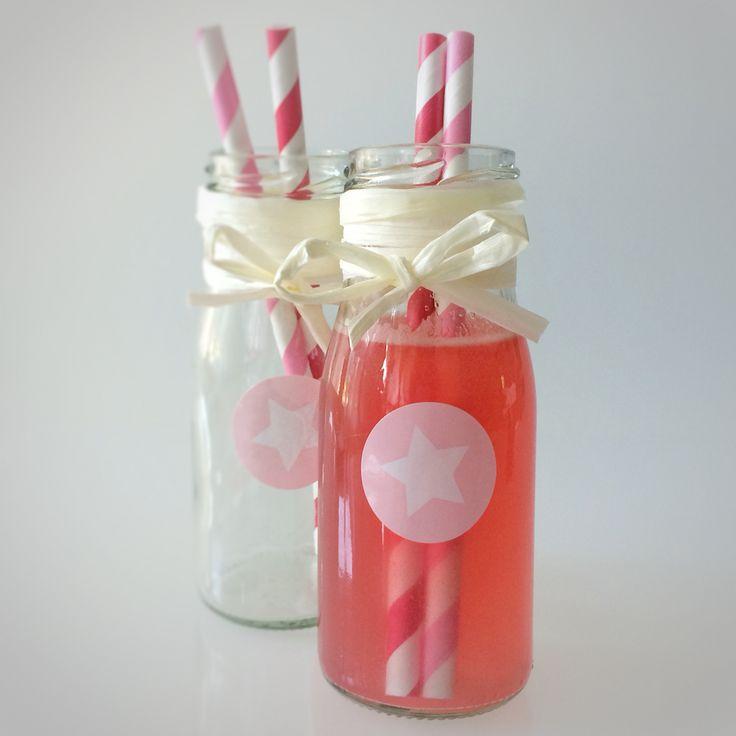 Rhabarbersirup  rhubarb sirup - homemade   --> Rezept auf www.lalasophie.blogspot.ch