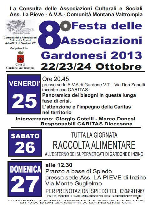 8 Festa delle Associazioni Gardonesi http://www.panesalamina.com/2013/17985-8-festa-delle-associazioni-gardonesi.html