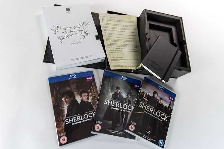 Thanks to the kind people at BBC Shop, we've got our hands on the UK exclusive Limited Edition Collector's Boxset of Sherlock Series 1-3, and thought we'd give you an in-the-flesh look at the unboxing of it.<--from Sherlockology