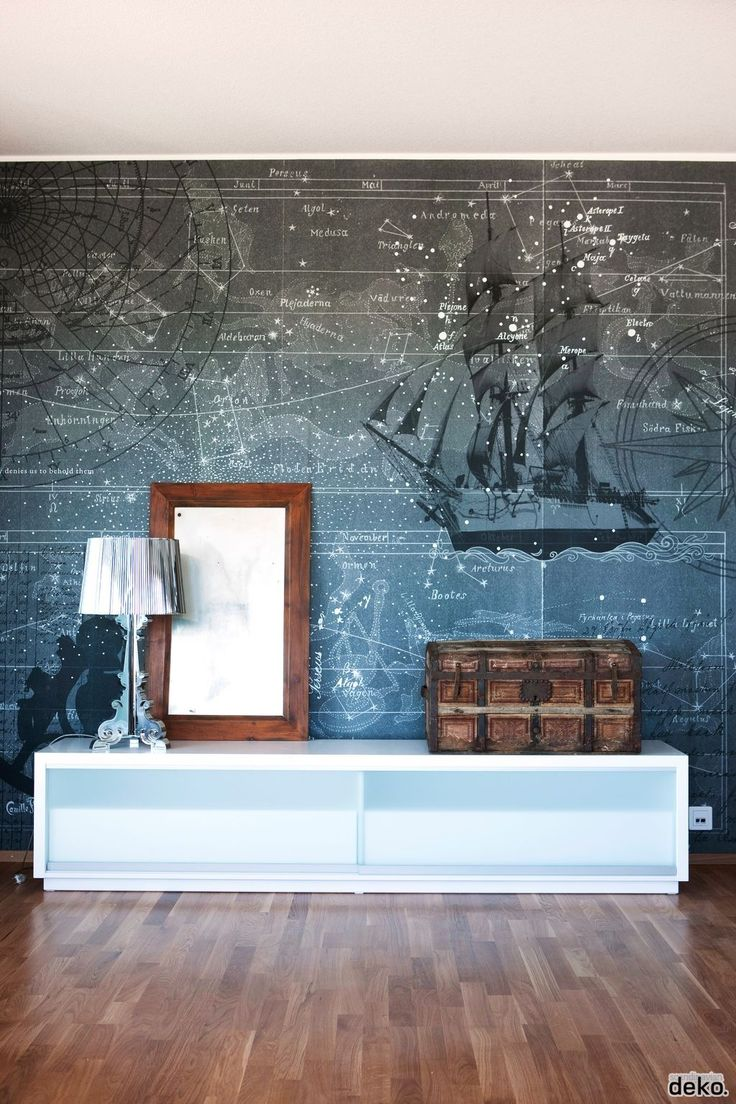 what a cool wall idea - Nautical Design Ideas