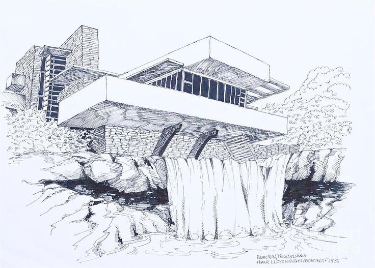 Les 76 meilleures images du tableau frank lloyd wright - Frank lloyd wright architecture organique ...