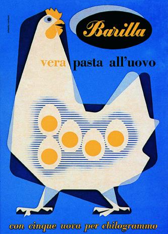 Barilla Ad by Erberto Carboni.