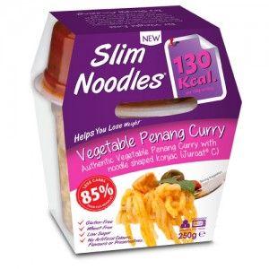 Tagliatelle di verdure Panang Curry Konjac - Slim Pasta