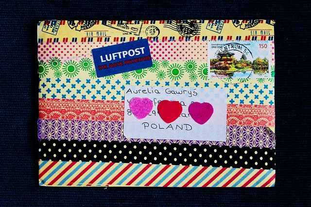 2013-11-23 | Letter from Anna #2 - envelope