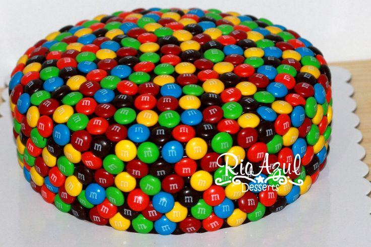 mm Cake for vinners bday!!!