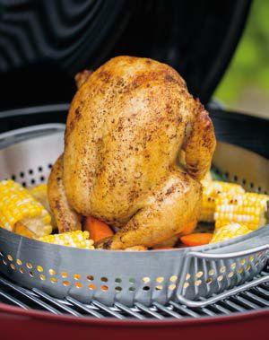 Bij Bouwhof vind je de lekkerste Weber barbecue recepten zoals het recept pittig gekruide kip voor 4 personen
