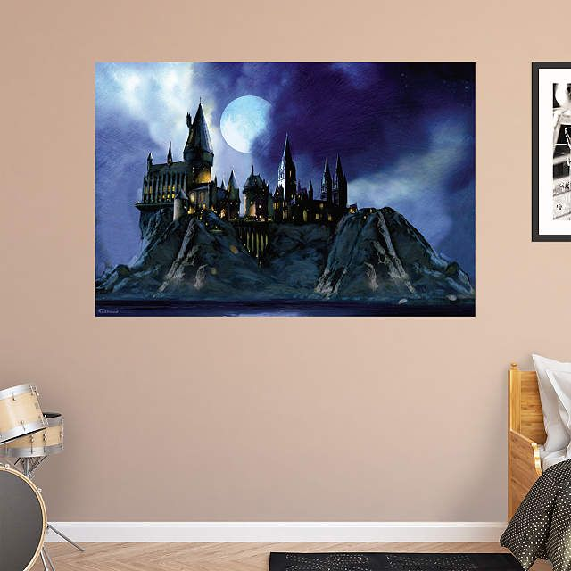 Hogwarts Castle Mural Part 45