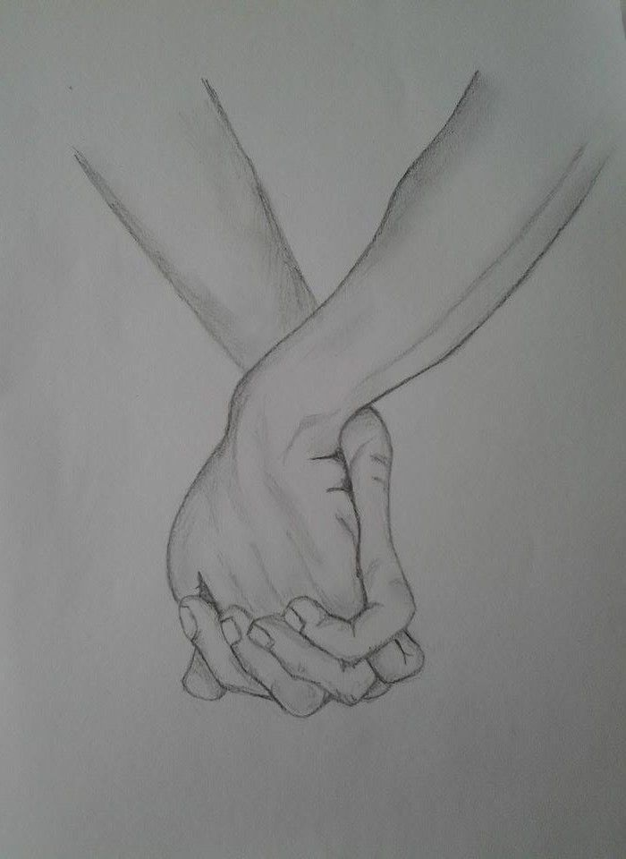 I want to hold your hand forever :*