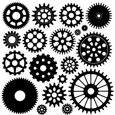 Cogs and related Steampunk themed clip art - would you like some?