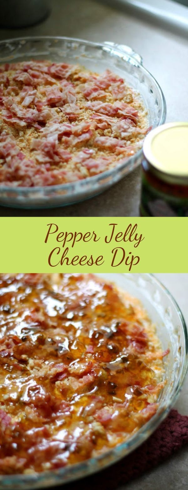 Pepper Jelly Cheese Dip