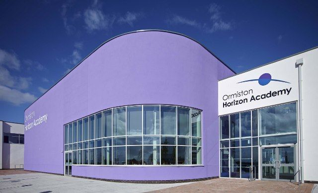 System 4-35Hi+ High Performance thermally enhanced casement windows installed at Ormiston Horizon Academy