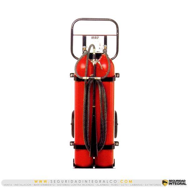 ► Extintor de CO2, BC 100 Lbs ● C-100