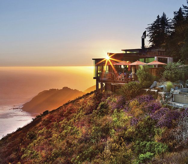 Sierra Mar, Big Sur, Calif., U.S.A. | 32 Restaurants With Spectacular Views