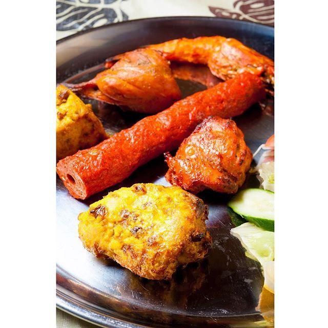 work ミックスグリル #ネパール料理 #肉 #肉食 #タンドリーチキン #スパイシーチキン #美味しいもの