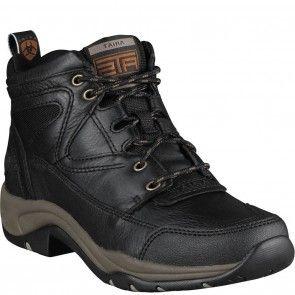 10004126 Ariat Women's Terrain Hiking Boots - Black www.bootbay.com