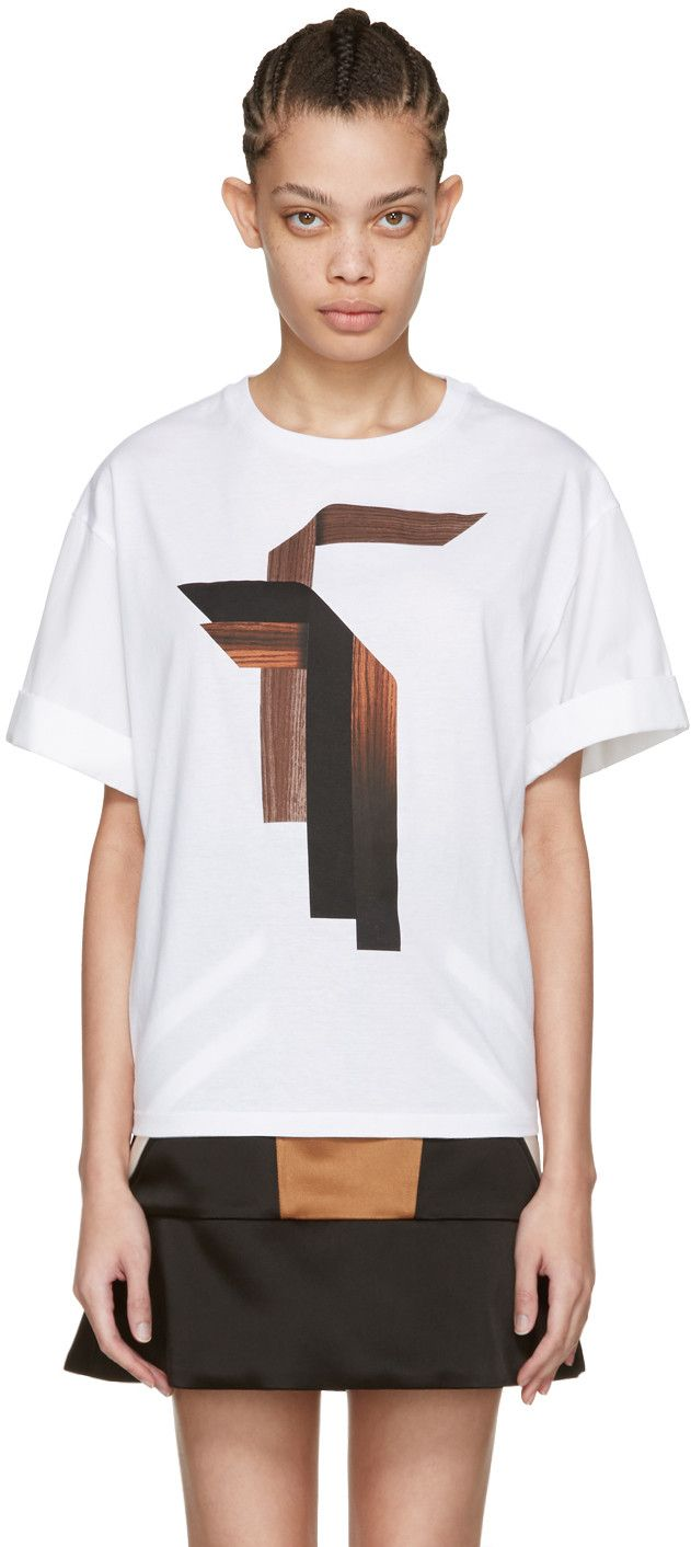 Neil Barrett - White Sanfor T-Shirt