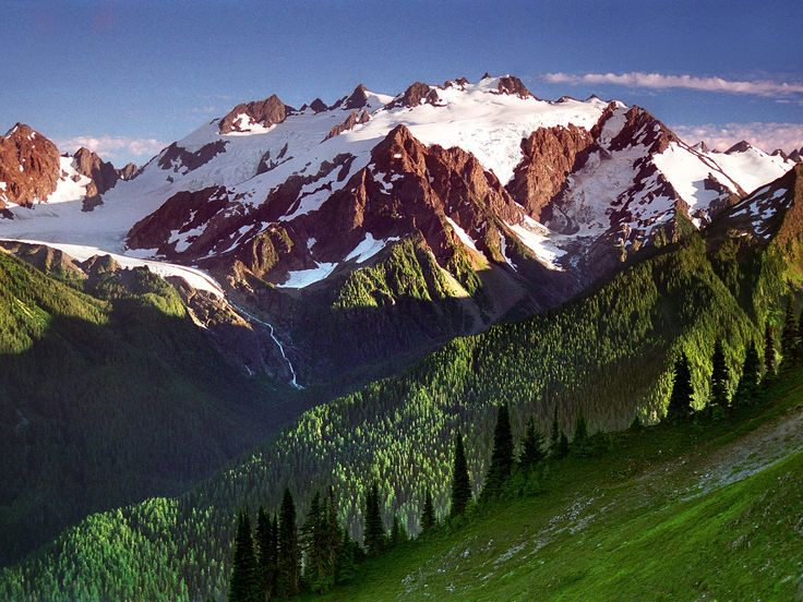 thorn of ice, mount olympus, olympic national park, wa    favorite national park. I wish I was there.