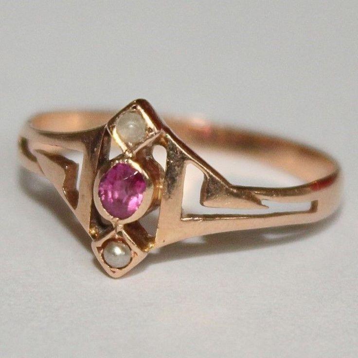Modeschmuck gold ring  429 besten Ring Jugendstil Bilder auf Pinterest | Jugendstil-Ring ...