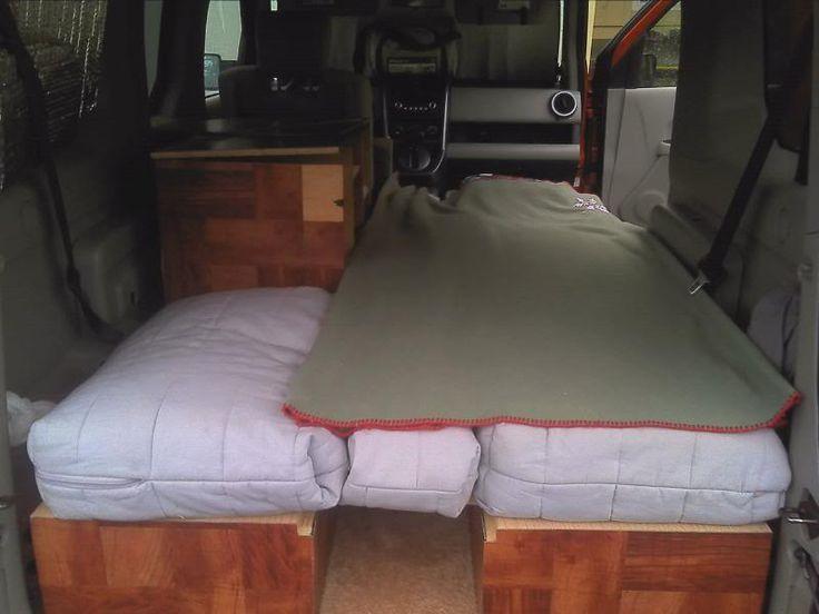 22 best honda element camper images on pinterest honda element camper campers and micro campers. Black Bedroom Furniture Sets. Home Design Ideas