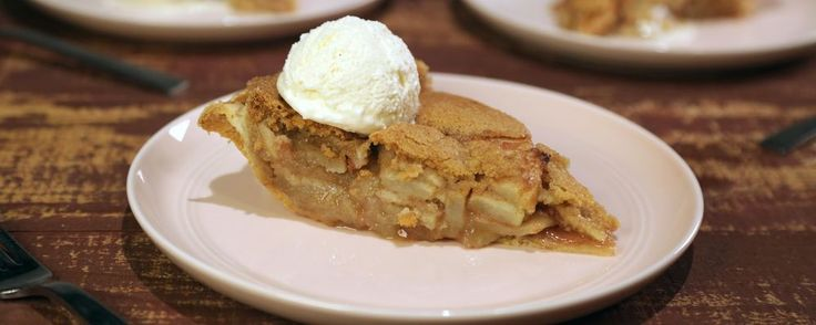 The Chew- Carla Hall's Apple Snickerdoodle Pie http://abc.go.com/shows/the-chew/recipes/apple-snickerdoodle-pie-carla-hall