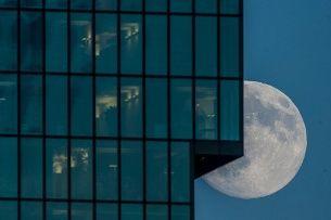 La luna alcanza el perigeo, la distancia más corta de la Tierra, el 10 de agosto. Se produce entonces el espectáculo del satélite más grande y más brillante del año.  (Keystone/Ennio Leanza) (Keystone)